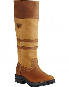Ariat Women's Cider Brown Ambleside H2O English Boots