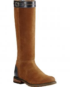 Ariat Women's Nutmeg Creswell H2O English Boots