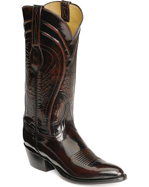 Lucchese Handcrafted Classics Seville Goatskin Boots - Pointed Toe
