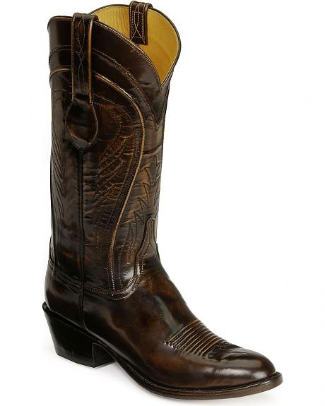 Lucchese Handcrafted Classics Seville Goatskin Boots - Medium Toe