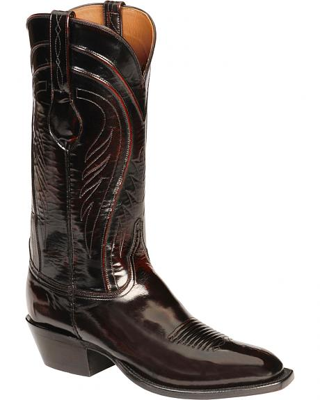 Lucchese Handcrafted Classics Seville Goatskin Boots - Square Toe
