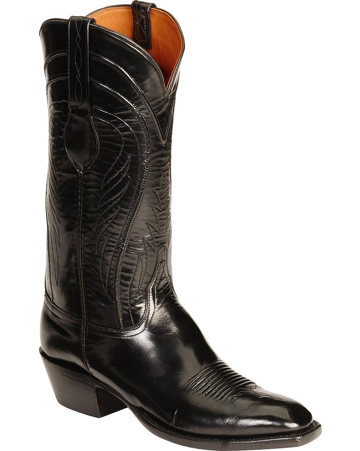 Lucchese Men's Handcrafted Classics Seville Goatskin Boot ...