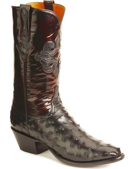 Lucchese Boots - Handcrafted Classics full quill ostrich boots