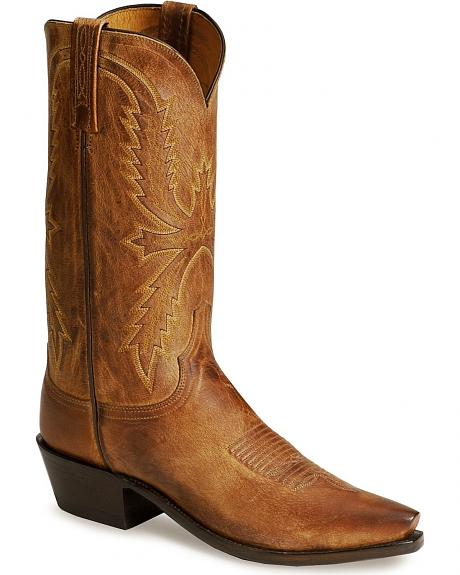 Lucchese Handcrafted 1883 Mad Dog Western Cowboy Boots - Snip Toe
