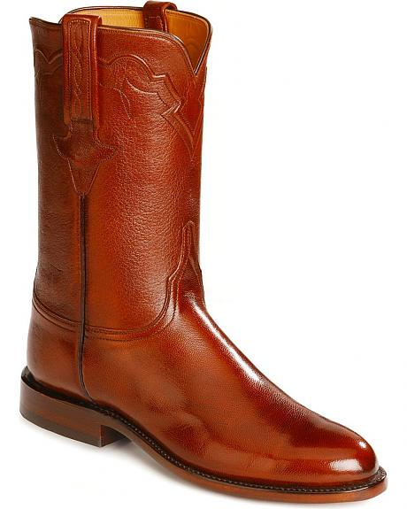 Lucchese Handcrafted Classics Goatskin Roper Boots