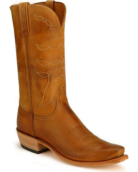 Lucchese Handcrafted 1883 Beeswaxed Calf Boots