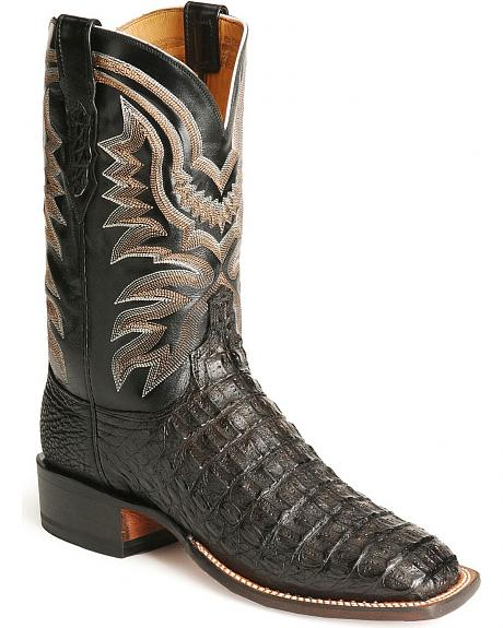 Lucchese Handcrafted 2000 Hornback Caiman Boots