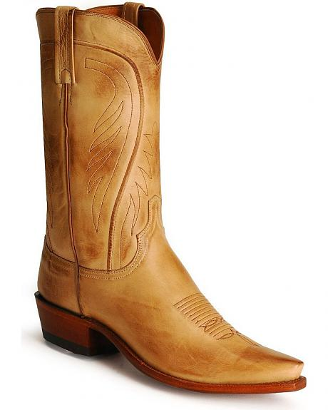 Handcrafted Lucchese 1883 Ranch Hand Western Boots