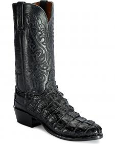 Lucchese Handcrafted 2000 Caiman Western Boots  - Medium Toe