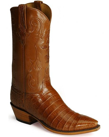 Lucchese Boots - Handcrafted Classics Diego inlay ultra crocodile belly boots