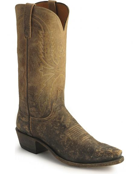 Lucchese Handcrafted 1883 Stonewashed Cowboy Boots