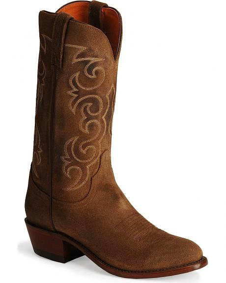 Lucchese Boots - Handcrafted 1883 Comanche Leather Cowboy Boots