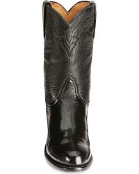 Lucchese Handcrafted Lone Star Roper Cowboy Boots at Sheplers
