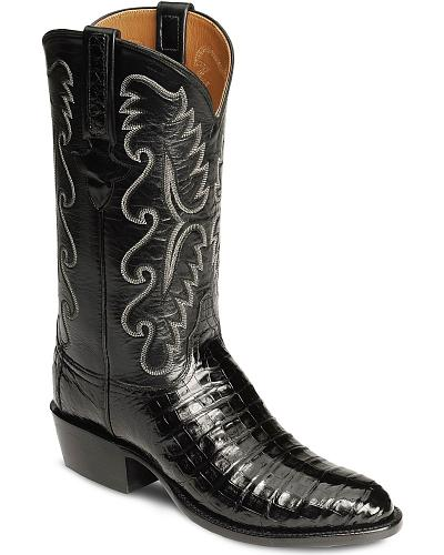 Lucchese Handcrafted Classics Caiman Ultra Belly Cowboy Boots Medium Toe Western & Country GB5953.73