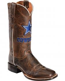 Lucchese Handcrafted 1883 Dallas Cowboys Mad Goat Horseman Boots