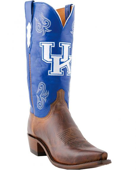 Lucchese Handcrafted 1883 Kentucky Mad Goat Cowboy Boots - Snoot Toe