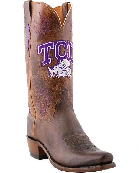 Lucchese Handcrafted TCU Mad Goat Cowboy Boots - Snoot Toe