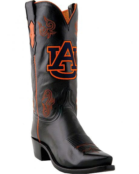 Lucchese Handcrafted 1883 Auburn Lonestar Calf Cowboy Boots - Snip Toe