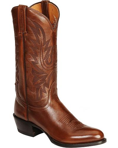 Lucchese Handcrafted Lonestar Calf Cowboy Boots Medium Toe Western & Country M1023 R4