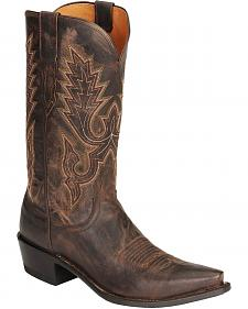 Lucchese Handcrafted 1883 Mad Dog Goat Cowboy Boots - Snip Toe