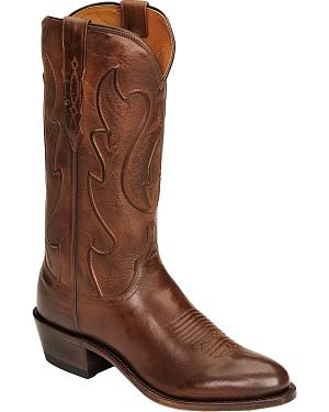 Lucchese Handcrafted 1883 Ranch Hand Cowboy Boots -  Round Toe