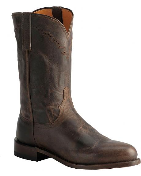 Lucchese Handcrafted 1883 Madras Goat Roper Boots