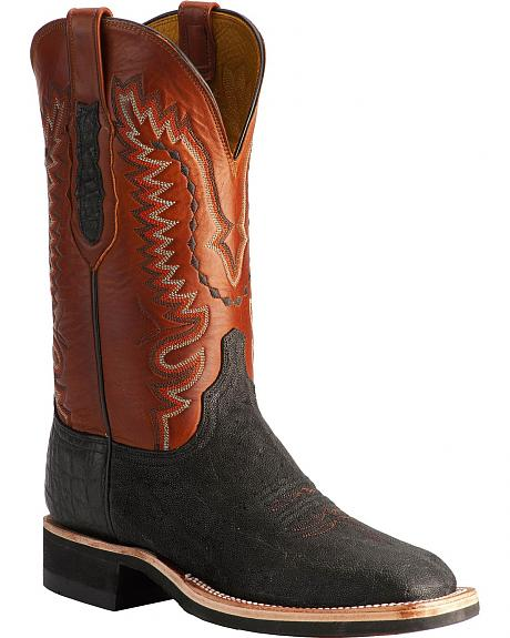 Lucchese Handcrafted 1883 Elephant Cowboy Boots - Square Toe