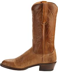 Lucchese Handcrafted 1883 Smooth Ostrich Cowboy Boots at Sheplers