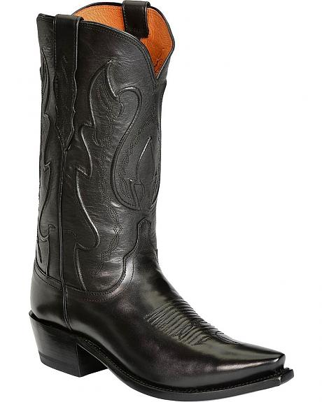 Lucchese Handcrafted 1883 Western Ranch Hand Cowboy Boots - Snip Toe