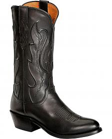Lucchese Handcrafted 1883 Western Ranch Hand Cowboy Boots - Round Toe