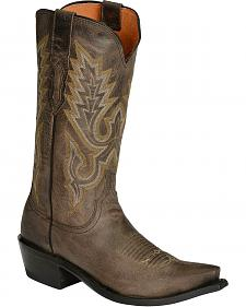 Lucchese Handcrafted 1883 Madras Goat Cowboy Boots - Snip Toe