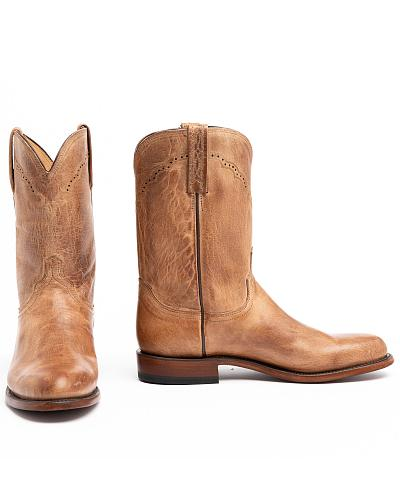Lucchese Handcrafted 1883 Mad Dog Goatskin Roper Cowboy ...