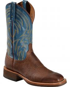 Lucchese Alan Smooth Cowhide Cowboy Boots - Square Toe