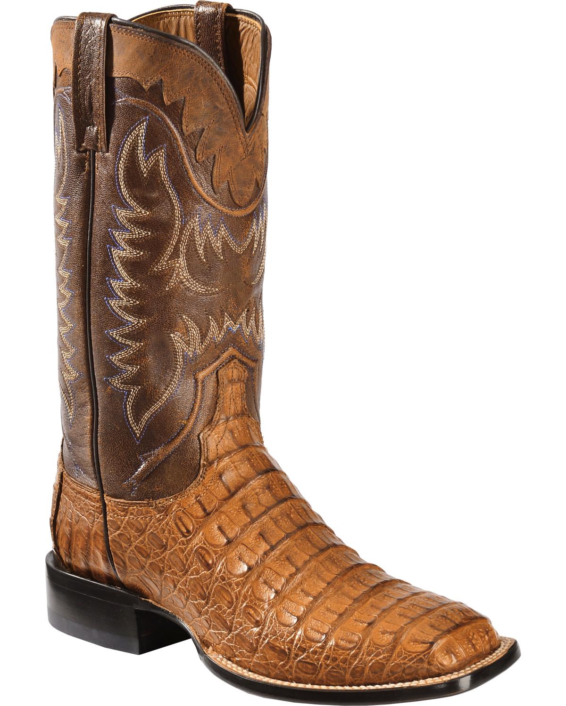 lucchese s handmade 1883 rhys hornback caiman cowboy