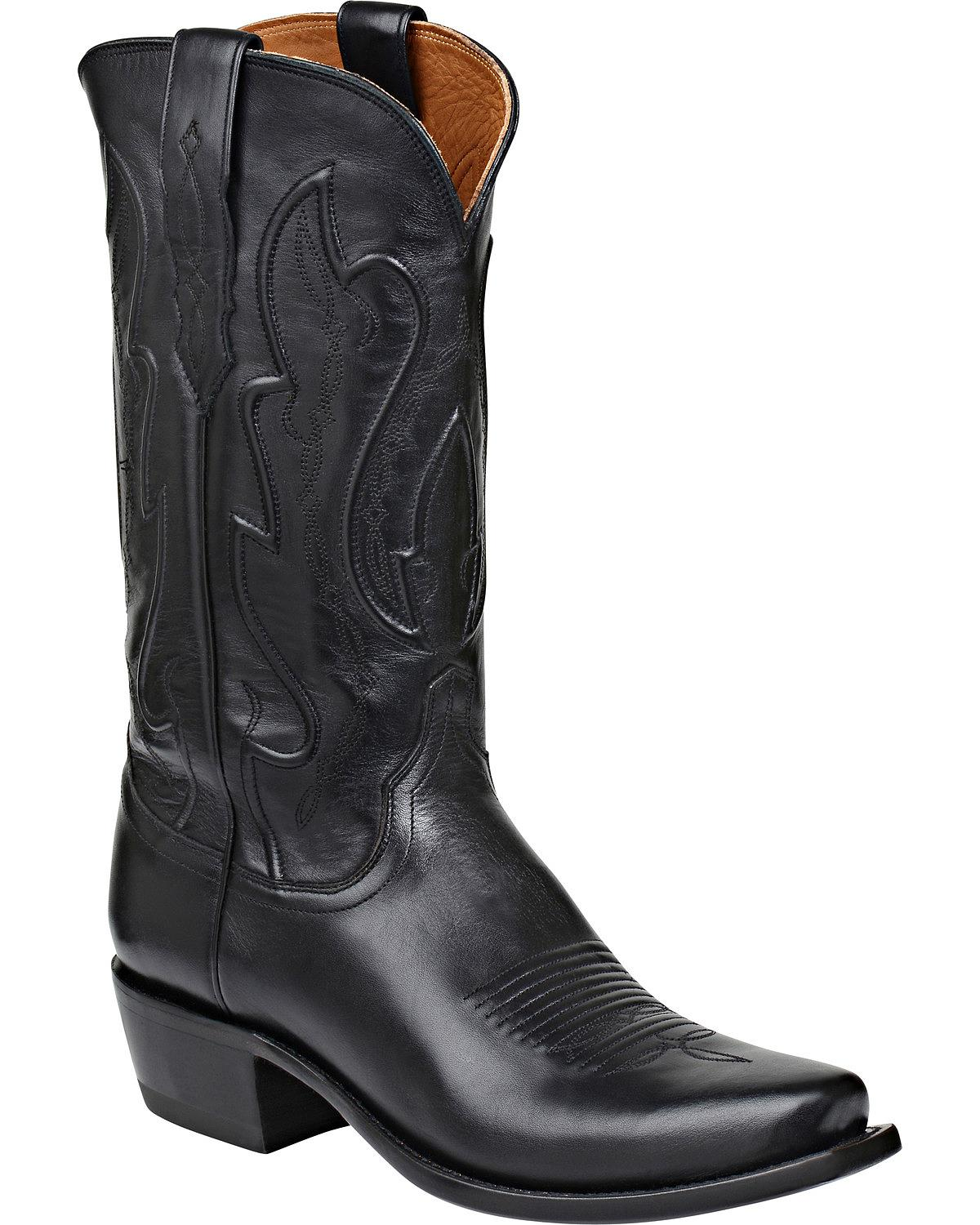 lucchese s handmade 1883 cole cowboy boot snip toe