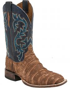 Lucchese Men's Malcolm Alligator Western Boots - Square Toe