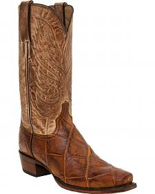Lucchese Men's Rex Alligator Western Boots - Square Toe