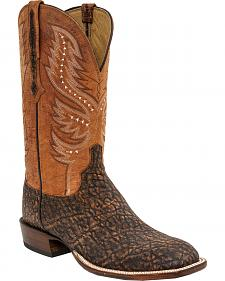 Lucchese Men's Cade Elephant Horseman Boots - Square Toe