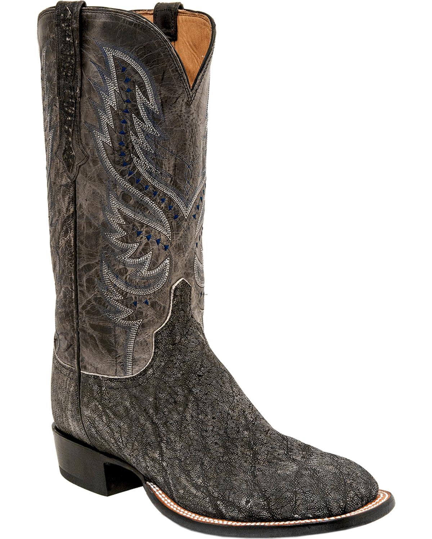 lucchese s cade elephant horseman boot square toe ebay