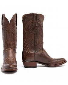 Lucchese Clint Heirloom Mad Dog Goat Boots- Round Toe