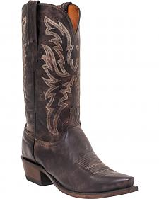 Lucchese Men's Milo Western Boots - Snip Toe