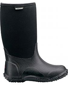 Bogs Boys' Classic High Waterproof Rain Boots