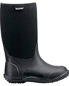 Bogs Boys' Classic High Waterproof Rain Boots