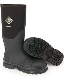 Muck Boots Chore Hi Work Boots - Steel Toe
