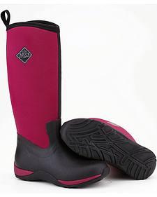 Muck Boots Maroon Arctic Adventure Boots