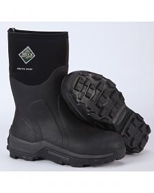 Muck Men's Black Arctic Sport Mid High Performance Sport Boots