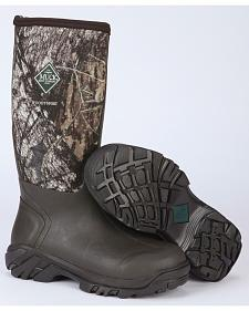 Muck Men's Woody Mossy Oak Sport All-Terrain Hunting Boots