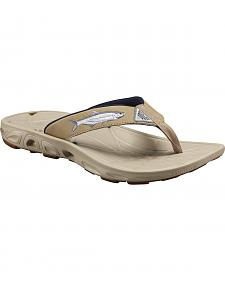 Columbia Men's Techsun Vent Fish Flip-Flops
