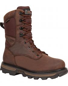Rocky Arktos Waterproof Insulated Outdoor Boots - Round Toe
