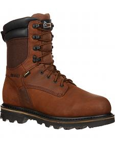 "Rocky 9"" Cornstalker Gore-Tex Waterproof Outdoor Boots - Round Toe"